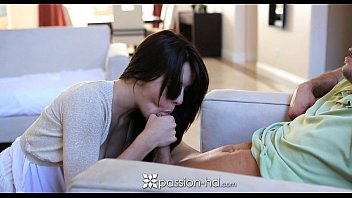 HD - Passion-HD Cute Brunette Natalie Gets Fucked By Her Man