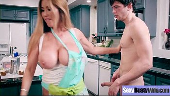 Sexy Busty Wife (Kianna Dior) Love Intercorse On Camera movie-16