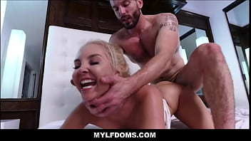 Milfs who love to fuck rough Cute blonde petite milf aaliyah love rough fucked by intruder