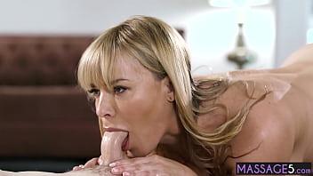 Horny big tits mature rode a perverted strangers cock