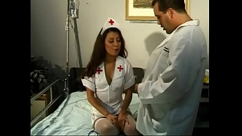 Kinky doctor fucks sexy Asian assistant nurse and creams her shoes
