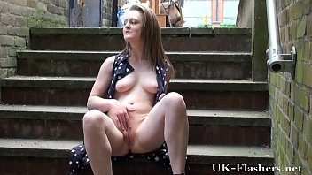 Skinny blonde teens public nudity and outdoor masturbation of crazy young flashe 7分钟