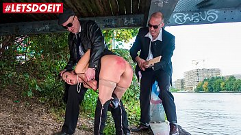 Sex squit Letsdoeit - hot german milf tortured by mature guys