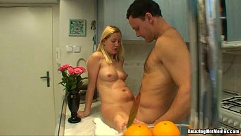 Blonde Milf Getting Rammed In The Kitchen thumbnail