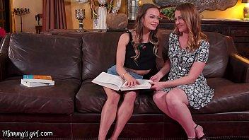 Mommysgirl Dreamy Milf Marie Mccray Helps Her Stepdaughter Naomi Swann To Study 12 Min