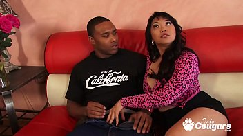 Mika Tan & Lana Violet Fill Their Asian Beavers With Black Cock