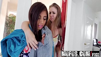Mofos - Share My BF - (Ella Knox, Lena Paul) - Stepsister Wife Threesome