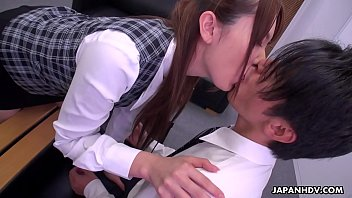 Japanese office lady, Yui Hatano is naughty, uncensored 5 min