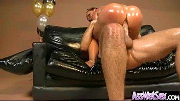Nikki benz early anal Nikki benz big butt girl get oiled and hard deep anal nailed clip-24