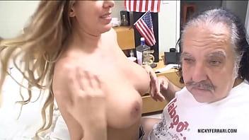 Nicky Ferrari Sex with my friend Ron Jeremy. porno izle