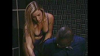 Roxanne Blaze Interracial scene 8 min