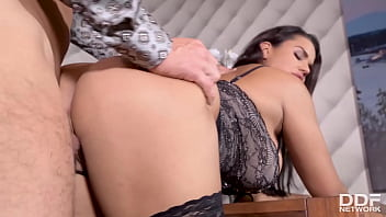 voluptuous brunette babe chloe s juicy big tits and pussy fu