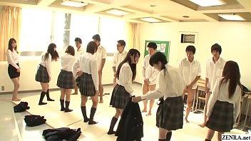 JAV synchronized schoolgirl mi