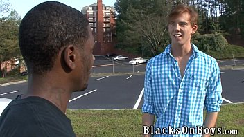 Kyle Powers Tries Gay Sex With A Black Guy thumbnail