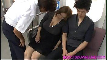 Big tits asian fucked on train thumbnail