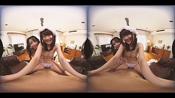 Asian house maid Two cult japanese maids in my house 2