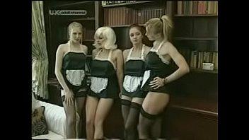 French Maid Group Masturbation