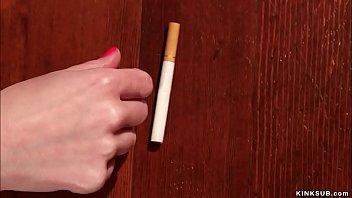 Lezdoms help anal slut quit smoking