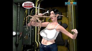 3D Comic: Spermaliens. Episodes 4-5 Vorschaubild
