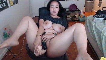 Rare Curvy Asian On Cam!  - Freakygirlscams.com