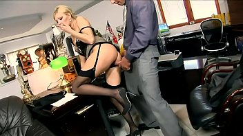 SLUTTYCATS.com blonde secretary get fucked in office
