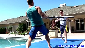 Marcus edwards granbury bisexual Athlectic jocks assfucking by the pool