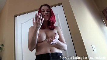 Cum hard for me so I can make you swallow it CEI