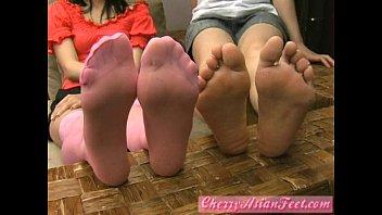 Cherry AsianFeet - Model double girls
