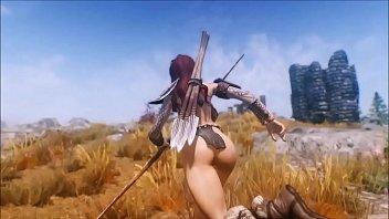 Beastly Skyrim - Huntress Fucks Her Pet Troll