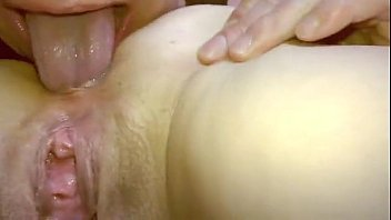 Amateur Eating her asshole