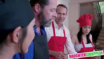 Gianna Gem , Savannah Sixx In Culinary Cock Cuties
