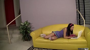 Sasha Yung Ate Her Stepdad's Asshole And Let Him Tear Her Pussy Up To Piss Off Her Mom!