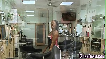 Black lesbian gets oral 8 min