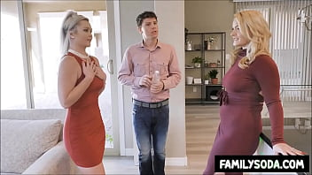 Stepmom and daughter share same Date porno izle