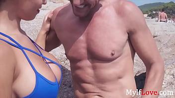 Beach Time Sex With Hot MILF- Briana Banderas thumbnail