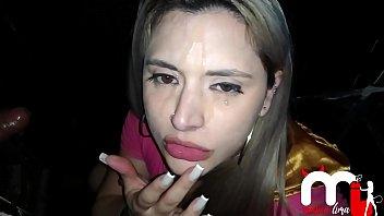 Mônica Lima chupando um desconhecido na cabine e levando gozada na cara. PART.2 2分钟