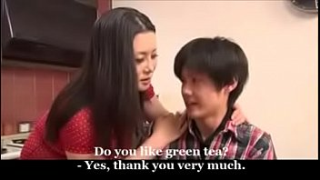Japanese Mom And Young Son thumbnail