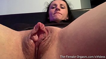 Age females get vaginal lips Horny body builder rubs giant clit and wet pussy to contracting orgasm