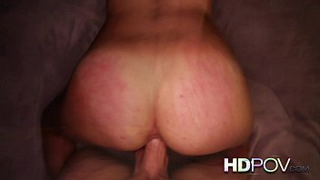 HD POV shaved brunette fucking your big cock thumbnail