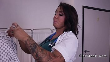 Patient anal toys and fists nurse 5 min