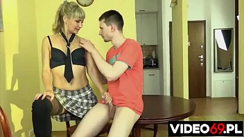 Polish porn - Step mom makes step son happy
