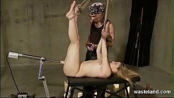Decadent Duology Of Blonde In Bondage Submitting To Maledom Masters