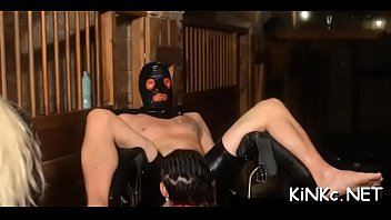 Femdom vid - Mean mistress wraps up her serf and tortures his dick