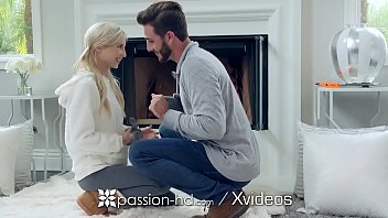 PASSION-HD Winter fuck in front of the fire with Piper Perri