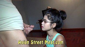Respectable Asian Women Turns Ruthless Raver's Thumb