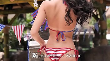 PASSION-HD Backyard 4th of July outdoor celebration FUCK 10 min
