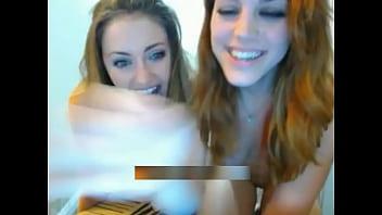 Blonde college teens doing naked pizza challenge - hotgfscum.com