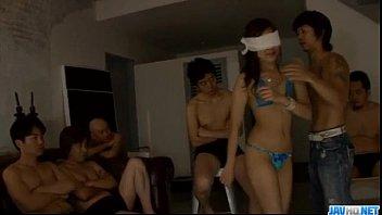 Asian group porn with sleazyMahiru Tsubaki 12 min