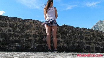 Windy Upskirt and No Panties in Public preview image