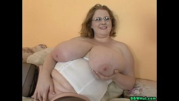 Massive tit blogs - Bbw milf plays with massive natural tits and dildos pussy